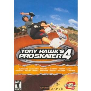 Tony Hawk Pro Skater 4 - Boxshot