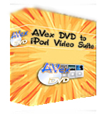 Avex DVD to iPod Video Suite - Boxshot