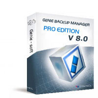Genie Backup Manager Professional - Boxshot