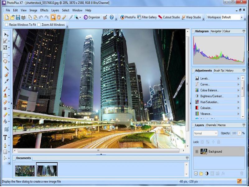 Screenshot af PhotoPlus