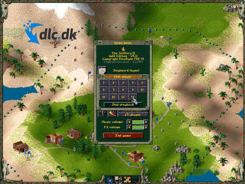 Screenshot af The Settlers 2 (Die Siedler)