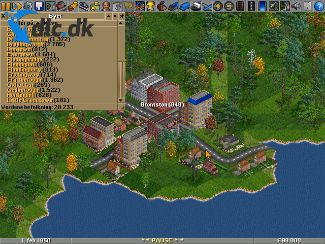 Screenshot af Transport Tycoon Deluxe