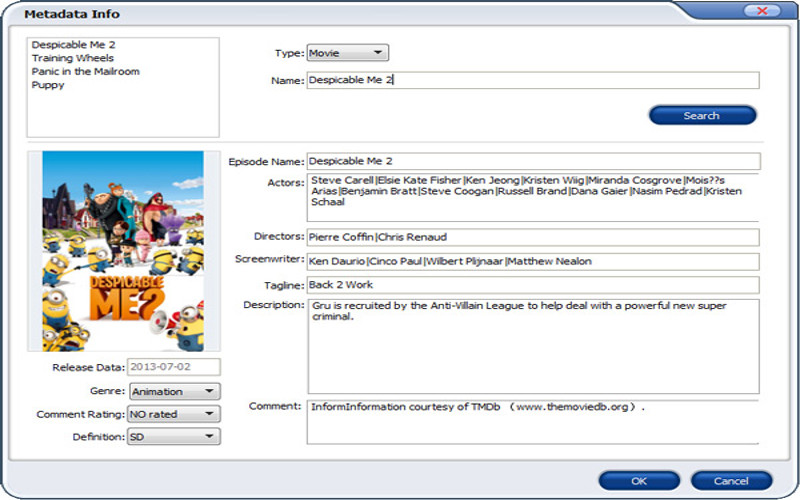 Screenshot af Aimersoft DVD Ripper für Mac