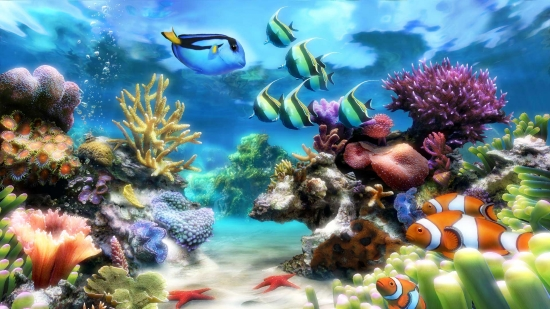 Screenshot af Sim AQUARIUM Screensaver