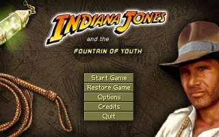 Indiana Jones and the Fountain of Youth - Boxshot
