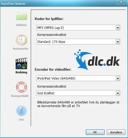 Screenshot af SoundTaxi Pro+Video Rip (Deutsch)