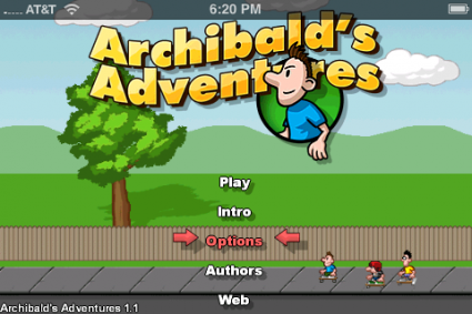 Archibalds Adventures - Boxshot