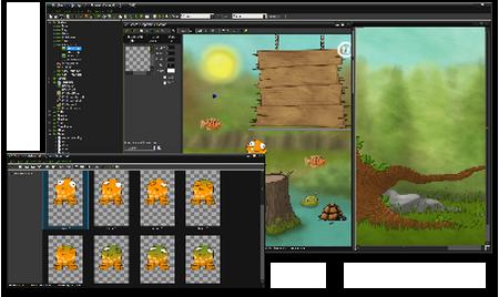Screenshot af Game Maker