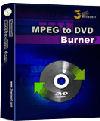 3herosoft MPEG to DVD Burner - Boxshot