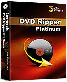 3herosoft DVD Ripper Platinum - Boxshot
