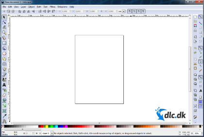 Screenshot af Inkscape