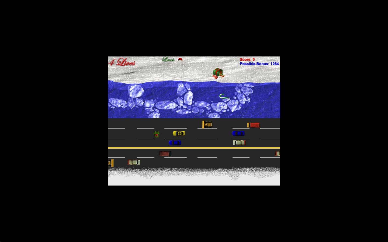 Screenshot af Christmas Super Frog for Windows