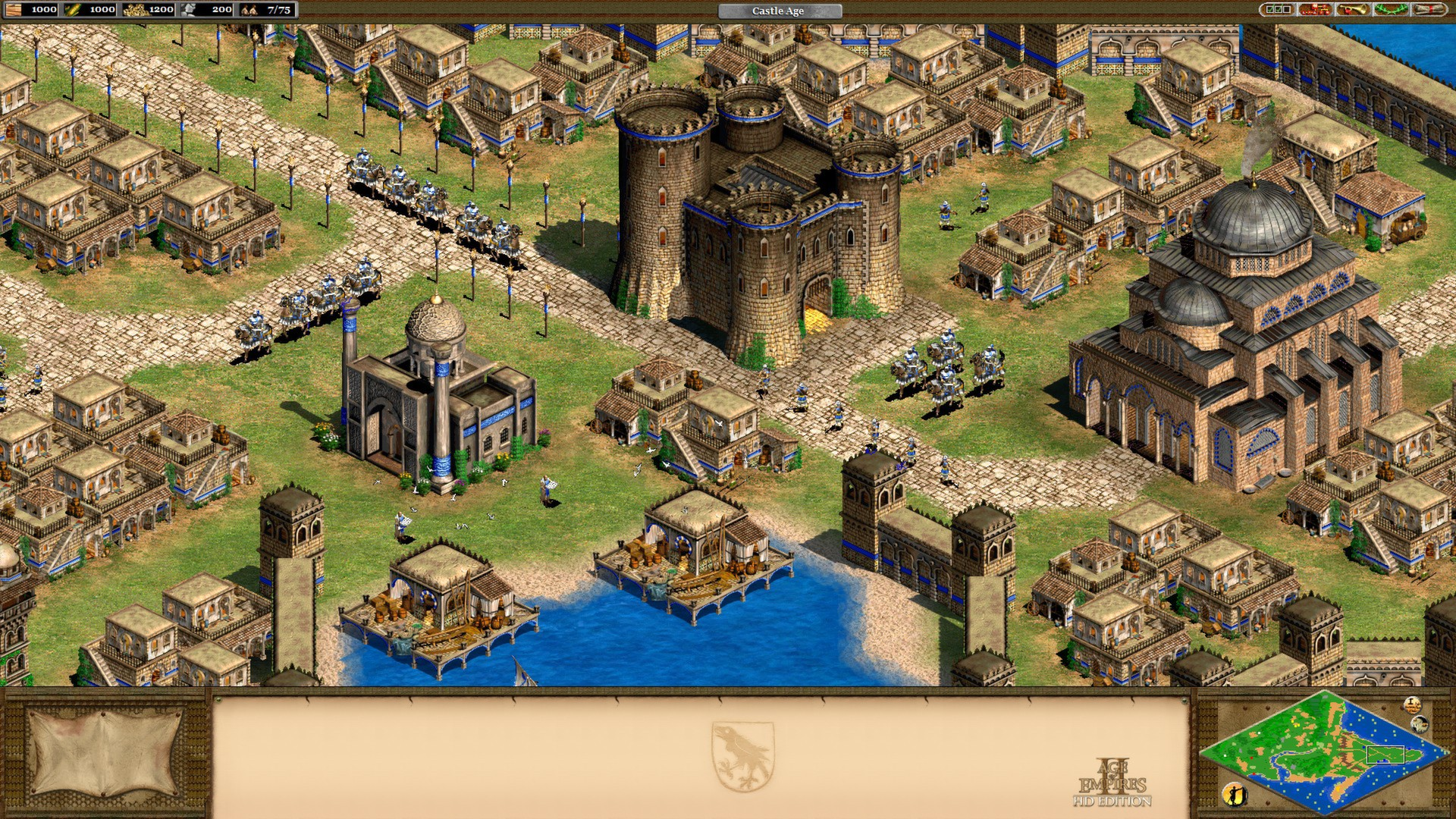 Screenshot af Age of Empires III