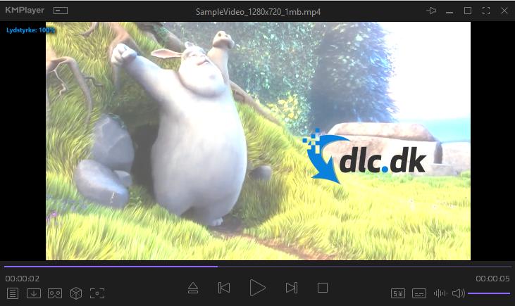 Screenshot af KMPlayer