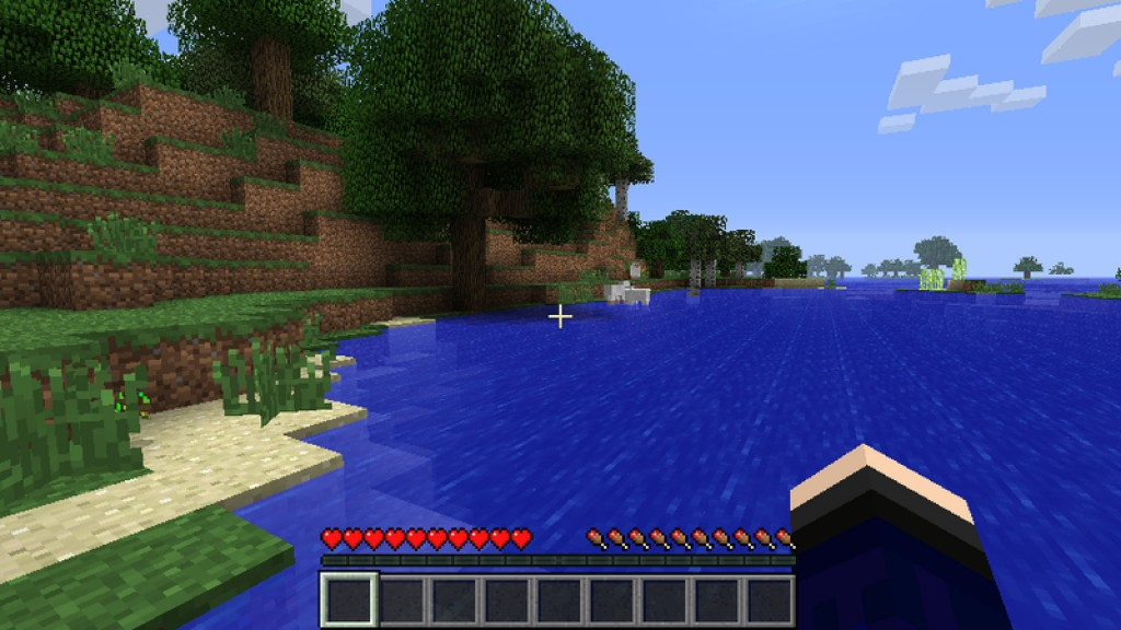 Screenshot af Minecraft