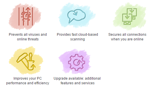 Screenshot af Comodo Internet Security
