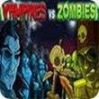 Vampires vs. Zombie - Boxshot
