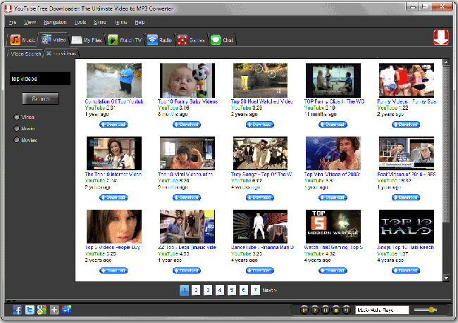Screenshot af Converter Plus - Video MP3 Converter