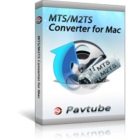 Pavtube MTS/M2TS Converter for Mac - Boxshot