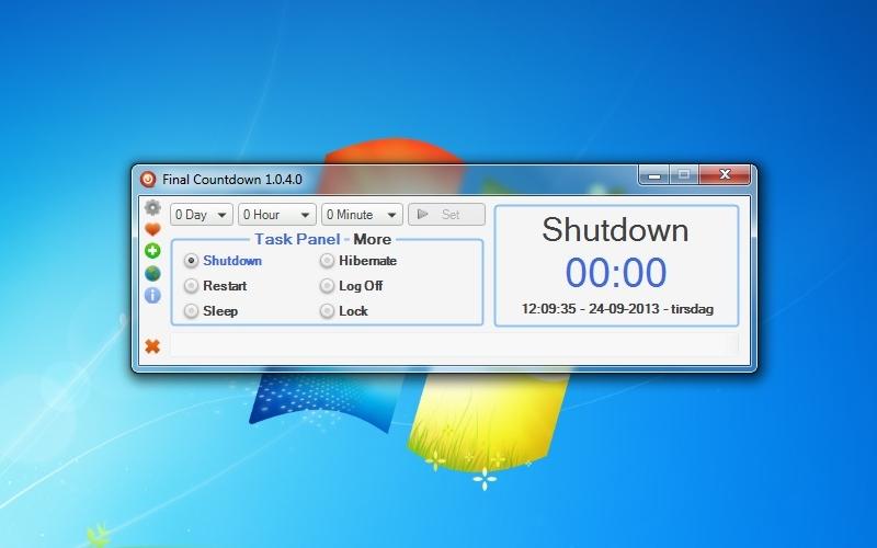 Screenshot af Final Countdown