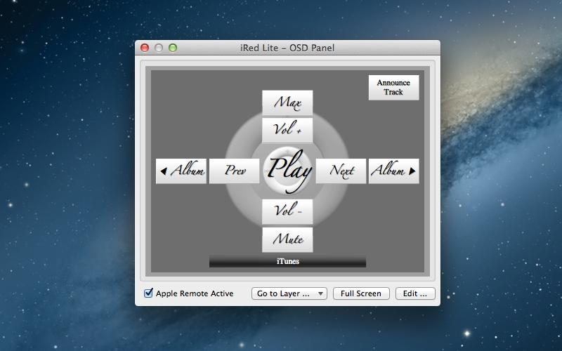 Screenshot af iRed Lite für Mac