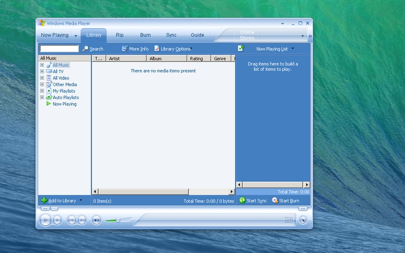 Screenshot af WineBottler für Mac