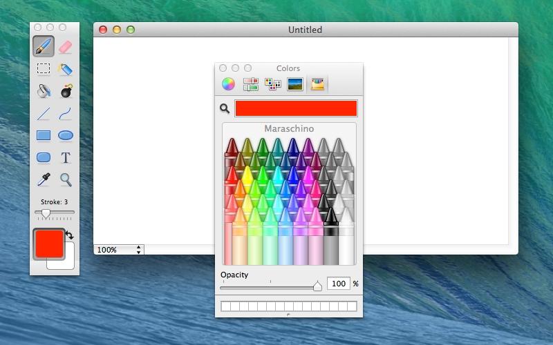 Screenshot af Paintbrush