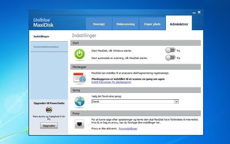 Screenshot af MaxiDisk (Deutsch)