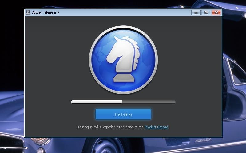 Screenshot von Sleipnir für Mac