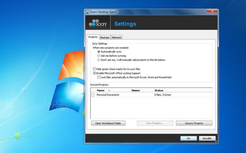 Screenshot af Soonr für Mac