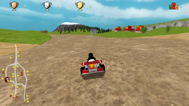 Screenshot von SuperTuxKart