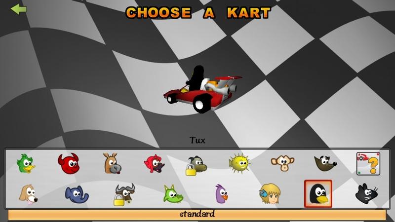 Screenshot af SuperTuxKart für Mac
