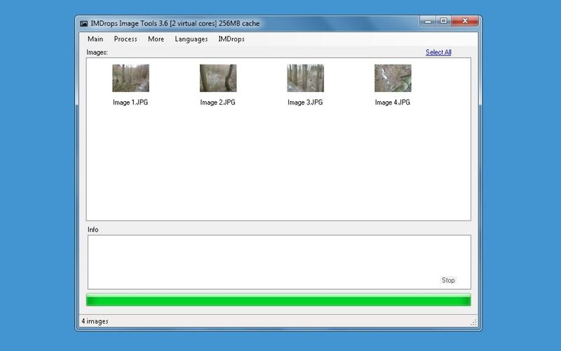 Screenshot af Image Tools