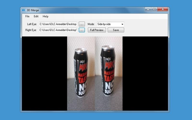 Screenshot af 3D Merge