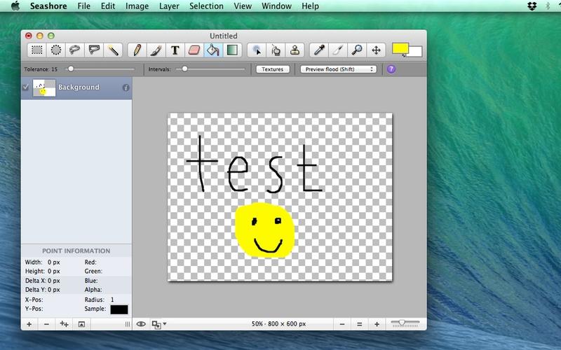 Screenshot von Seashore für Mac