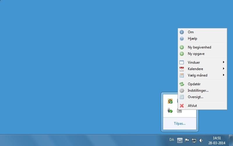 Screenshot von Rainlendar Lite für Mac