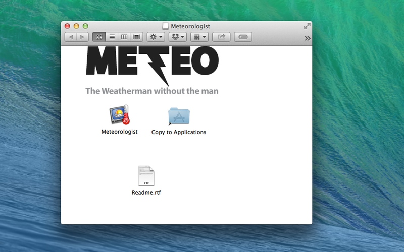 Screenshot af Meteorologist für Mac