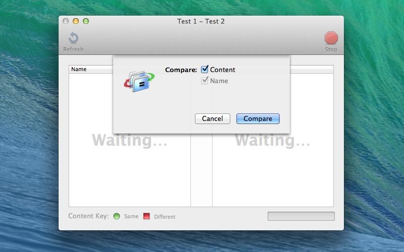 Screenshot af Juxtapose Folders für Mac