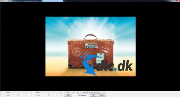 Screenshot af FastStone Image Viewer (deutsch)