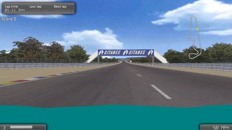 Screenshot af VDrift für Mac
