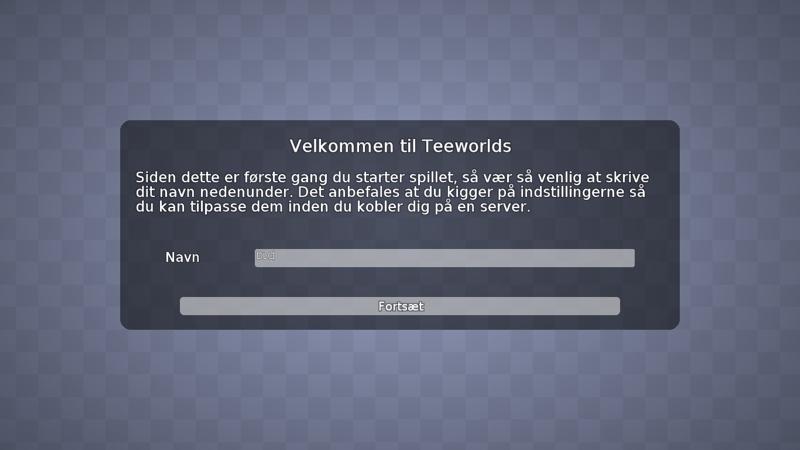 Screenshot af Teeworlds für Mac