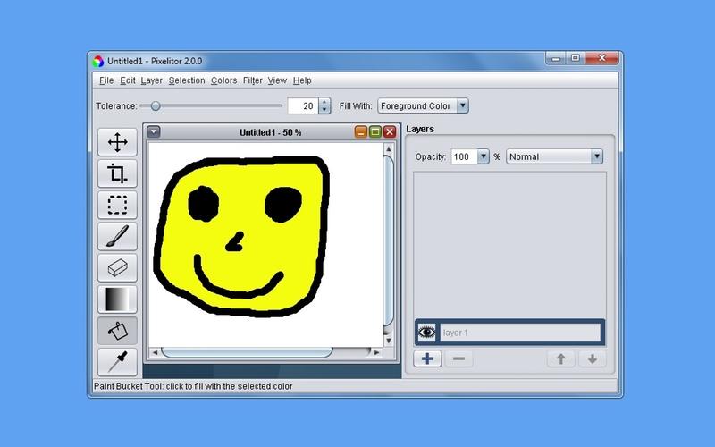 Screenshot af Pixelitor für Mac