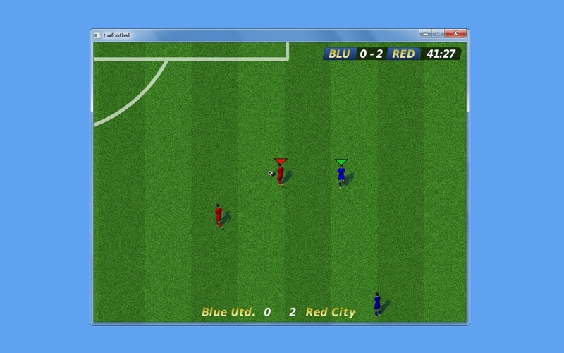Screenshot af Tux Football