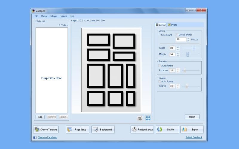 Screenshot af CollageIt für Mac