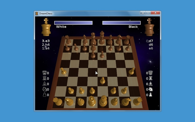 Screenshot af DreamChess für Mac