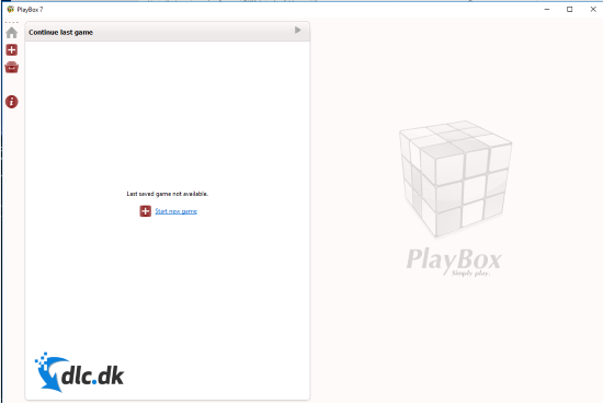 Screenshot af PlayBox