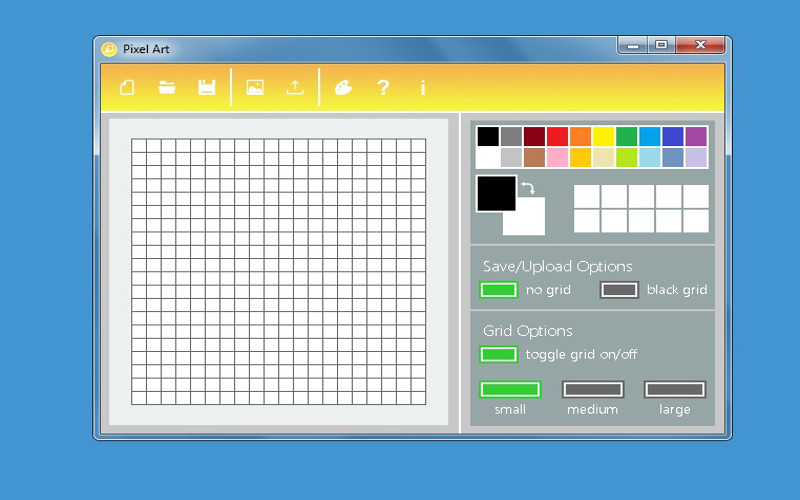 Screenshot af Pixel Art