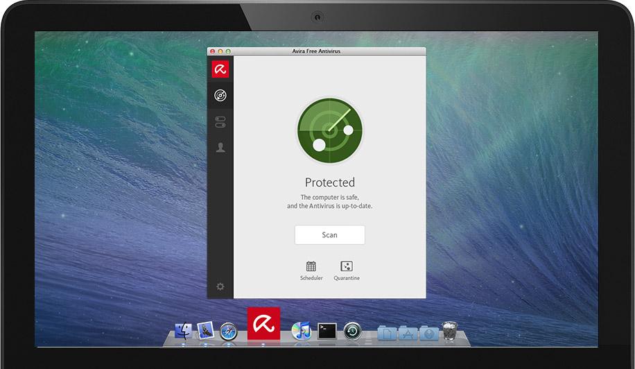 Screenshot af Avira Antivirus für Mac