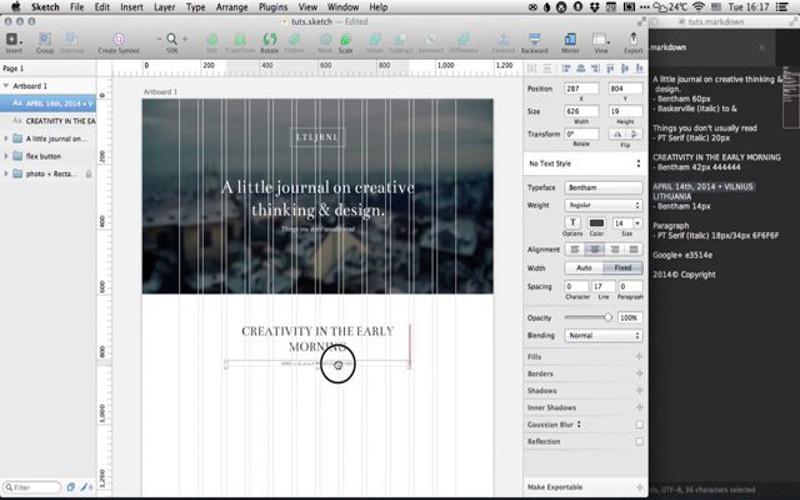 Screenshot von Sketch für Mac