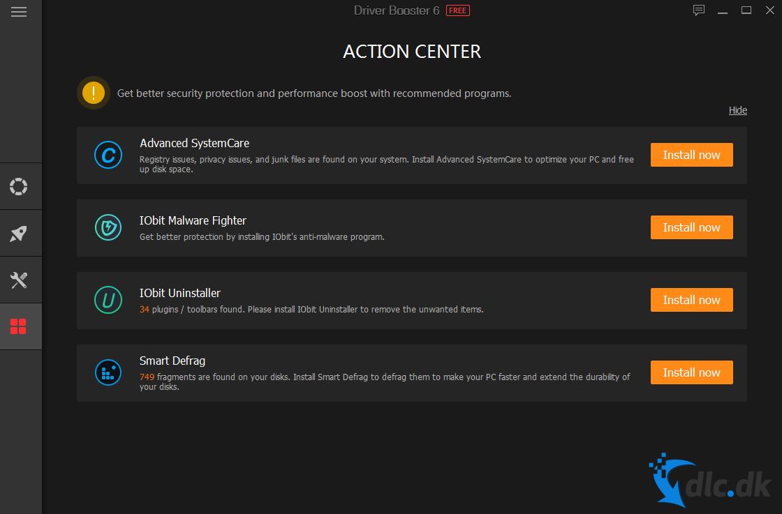Screenshot von Driver Booster